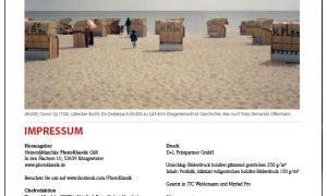 Ankündigung der Ausgabe II/2016 des Magazins Photoklassik