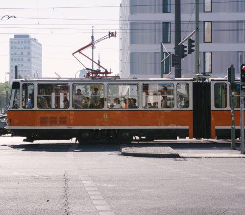Straßenbahn in Berlin Mitte